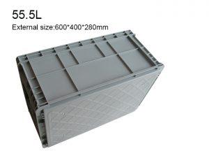 EUD plastic crate container